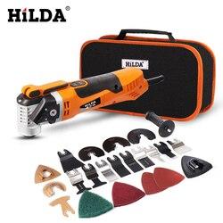 HILDA Oszillierende Multi-Werkzeuge Erneuerer Werkzeug Oszillierende Trimmer Startseite Trimmer holzbearbeitung Werkzeuge Multi-Funktion Elektrische Säge