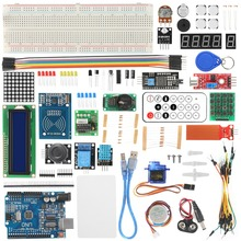 цена на Rfid Starter Kit For Arduino Uno R3 Improved Version Learning Suite With Retail Box