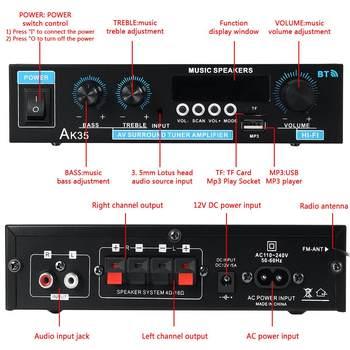 Mini 2.0 Channel Digital Amplifier 110V/220V 400W+400W 3