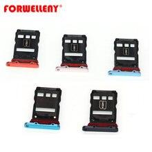 Para huawei p30 pro micro suporte para cartão sim slot bandeja adaptadores preto azul VOG-L09, VOG-L29