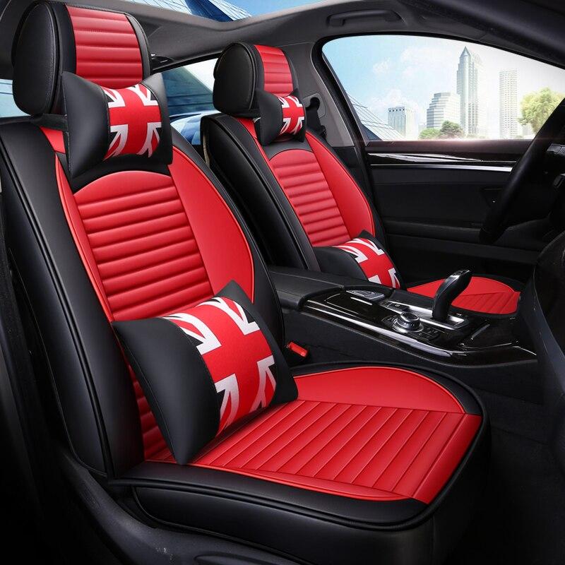 ZRCGL housses de siège auto universelles en cuir pour Hyundai tous les modèles elantra terrasses accent azera lantra tucson iX25 i30 iX35