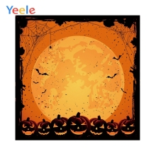 Yeele Custom Vinyl Photography Backdrop Halloween Night Bat Background Photobooth Photocall Photo Shoot