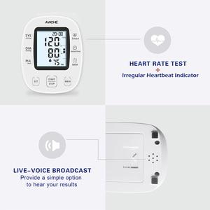 Image 2 - AVICHE Professionalเครื่องวัดความดันโลหิตอัตโนมัติแบบดิจิตอลBacklitจอแสดงผลLCD Talkingอุปกรณ์การแพทย์Sphygmomanometer