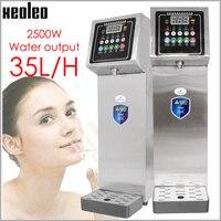 Xeoleo Kommerziellen Eis Heißer Typ Wasser dispenser 10L Hot & Cold Wasser maschine edelstahl Wasser kessel für blase tee shop 35L/H-in Wasserspender aus Haushaltsgeräte bei