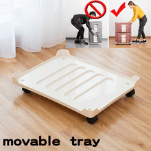 Removable Tray Compartment for Storage Box Rack Plastic Large Organizer Boxes Save Space Box Pulley Tray Pad Accessories