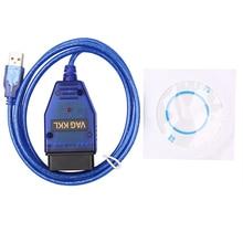 USB VAG-COM 409.1 Vag Com 409Com vag 409 kkl OBD2 Diagnostic Cable Scanner Scan Tool Interface For V W Audi Seat Volkswagen