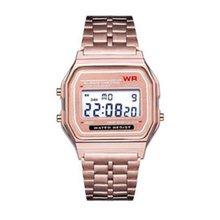 Ультратонкие спортивные детские электронные часы F91w с будильником, детские часы с ремешком из нержавеющей стали, мужские часы для детей, подарок для мальчиков и девочек