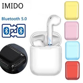 i9S TWS Mini Wireless Bluetooth Earphones Earbuds Sport Handsfree Earphone headphones Headset Charging Box for xiaomi iPhone цена 2017