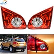 ZUK wewnętrzna lampa tylna światła dla Nissan Qashqai Dualis J10 2008 2009 2010 2011 2012 2013 2014 2015 tylne światło Taillamp