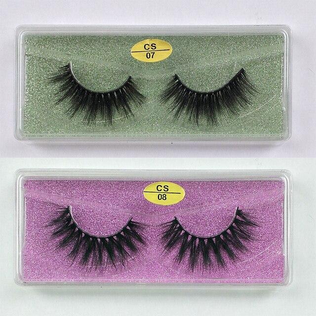 Wholesale Eyelashes 30/40/50/100pcs 3d Mink Lashes Natural Mink Eyelashes Wholesale False Eyelashes Makeup False Lashes In Bulk 5