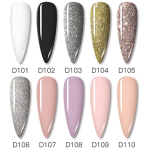 Image 2 - ROSALIND Dipping Powder Nail Set Glitter Natural Dry Holographic Powder Set Design Nail Art Decorations For Gel Polish Manicure