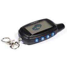 CENMAX ST 7A 러시아어 LCD 원격 제어 CENMAX ST7A 7A LCD 키 체인 자동차 원격 2 웨이 자동차 경보 시스템 자동차 보안