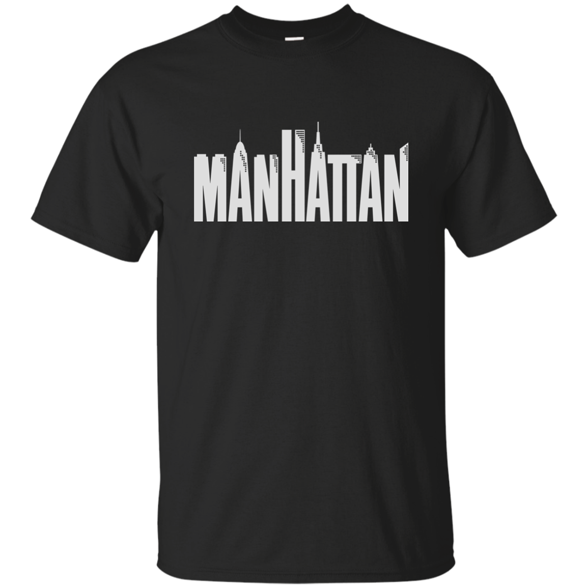 Manhattan Woody Allen Movie Skyline G200 Harajuku streetwear shirt men Ultra Cotton T Shirt image