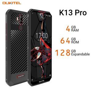 """Image 3 - OUKITEL K13 Pro 6.41 """"19.5:9 Android 9.0 cep telefonu MT6762 4G RAM 64G ROM 5V/6A 11000mAh OTA NFC parmak izi 4G Smartphone"""