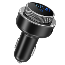 Fm-zender Voor Auto Fast Charger QC3.0 Usb Lader Auto Usb Snel Opladen MP3 Audio Speler Bluetooth 5.0 Handsfree Draadloze kit