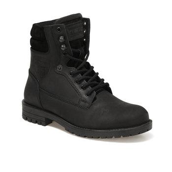 FLO ARAGORN czarne męskie buty KINETIX tanie i dobre opinie Podstawowe Sztuczna skóra ANKLE
