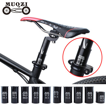 MUQZI Mountain Bike Road Bike Seat Post Tube Seatpost Reducing Sleeve Adapter Adjust Diameter 27.2 turn 30.4 turn 31.6 etc image