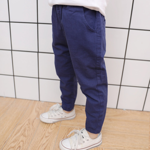 Image 3 - Famli 2018 hot sale Spring Summer Autumn children Full Lengths for baby boys trousers kids child casual Solid  Pencil pants