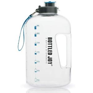 1 Gallon Water Bottle Sport For Large Outdoor Jug Camping Portable Travel Drinking Plastic Tour Bottled Joy Water Bottles