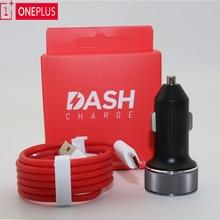 Originele Oneplus Dash autolader 5V4A Voor Een plus 6T 5/5 T/3/3 T dash Lading Adapter 1 M/1.5 M/2 M rode Ronde Dash USB Type C Kabel