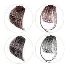 Salonchat человеческие волосы, не Реми волосы на заколках, челка, шиньон, волосы на заколках для наращивания, тупые волосы на заколках