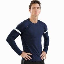 Gym Shirt Sportswear Fitness Long-Sleeve Dry Autumn Men for Elastic Men's New-Brand