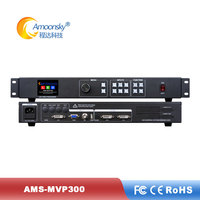 Low price video controller mvp300 with usb input for 98 inch outdoor led advertising screen price with advertising video display