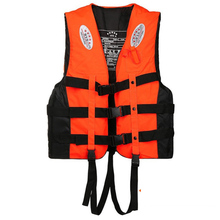 General Outdoor Swimming Rowing Boat Ski Driving Safety Vest Vest Life Jacket Polyester Life Jacket Adult Children Life Jacket