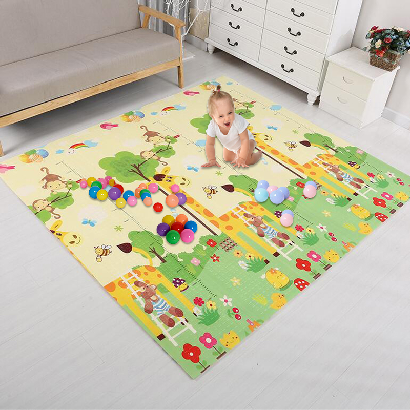 Double Surface Baby Play Mat Infantil Baby Room Puzzle Animal Children's Mat Thickened Developing Mat For Children Game Pad Toys
