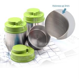 Image 5 - ואקום אטום מיכל נירוסטה מזון אחסון בקבוק צנצנות קפה שעועית מטבח אביזרי גדול קיבולת