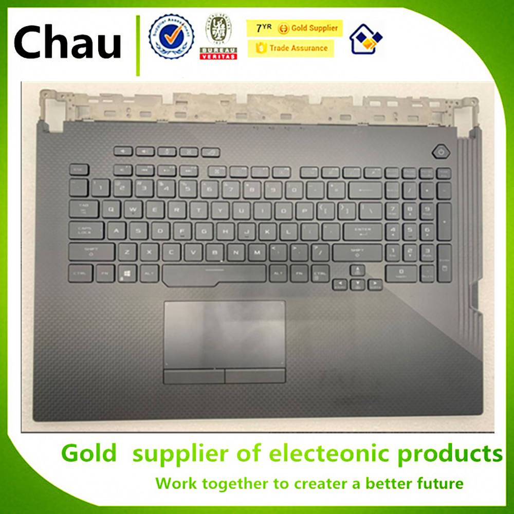 New For ASUS <font><b>G731</b></font> G731G Upper Case Palmrest Cover With keyboard image