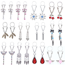2pcs Sexy Fake Piercing Nipple Rings for Women Clip