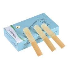 Alta qualidade 10 pçs/caixa bb clarinete tradicional bambu juncos força 2.0 / 2.5 / 3.0 para a opção