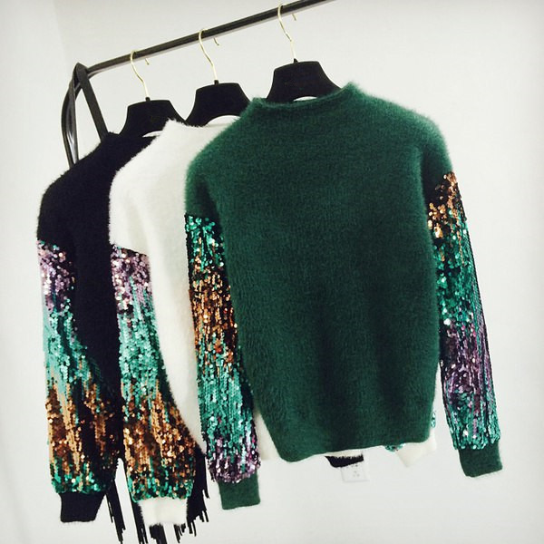 2019 Summer New Style Sequin Pullover Sweater AliExpress EBay