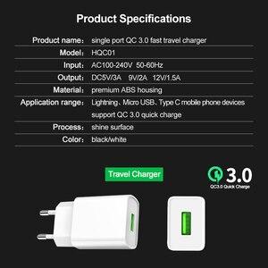 Image 2 - Phomax usb 충전기 3.0 18 w 빠른 전화 충전기 아이폰 x xs 8 7 ipad 삼성 갤럭시 s8 s9 갤럭시 htc xiaomi mi8 화웨이 넥서스