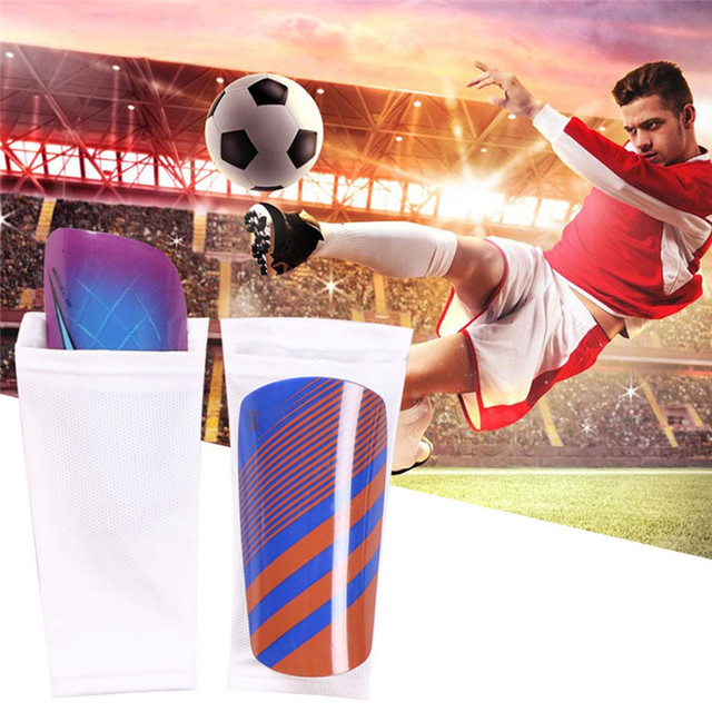 1 Pair Soccer Protective Socks With Pocket Football Shin Pads Leg Sleeves Supporting Shin Guard Adult Children Socks USA ship