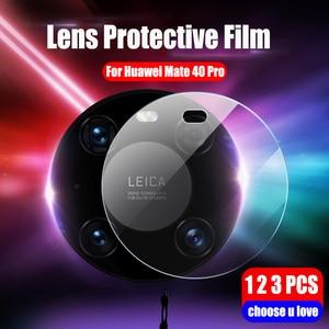 Задняя крышка для объектива камеры прозрачная защитная пленка для сенсорного экрана для Huawei мате 40 Pro плюс защитная пленка протектор экрана...
