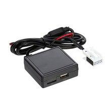 RD4 беспроводной Hands-free аудио адаптер с BT, AUX и USB Замена для Peugeot C2 C4 307308