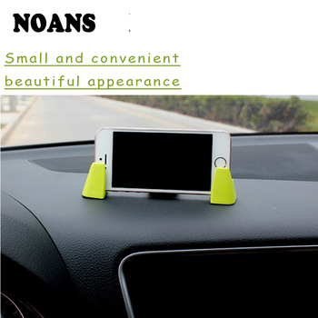 NOANS 1pcs Car Dashboard Mobile Phone GPS Holder Adjustable Bracket For Nissan Juke Tiida Subaru Ford mondeo mk4 mk3 Opel corsa image