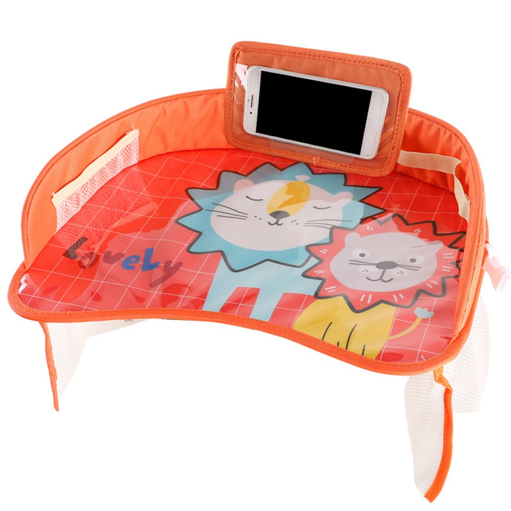 Car baby safety seat tray child car storage small table waterproof pallet multi-function cart plate CD50 Q03