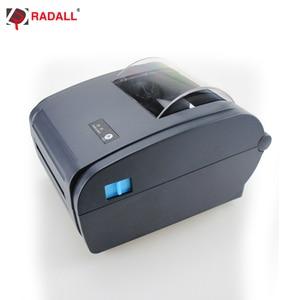 Image 5 - High quality Thermal Label Printer Barcode printer 110mm Logistic USB/Bluetooth Auto Peeling Portable Printer RD 9210
