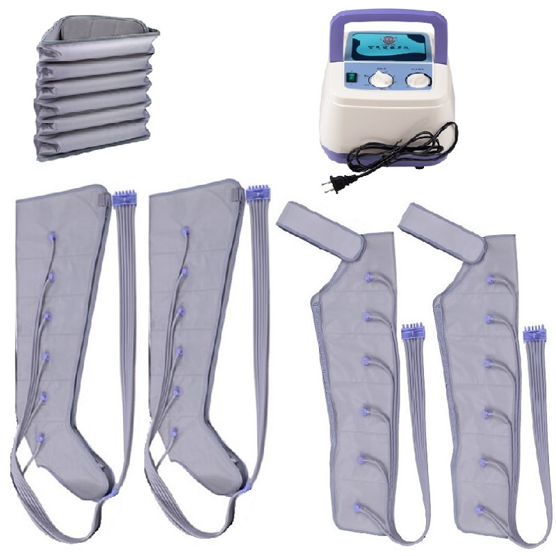 Home Air Compression Massager For Body Abdomen Leg Blood Circulation Pump Wrap Set For Pressure Therapy