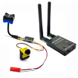 5.8G FPV Receiver UVC Video Downlink OTG VR Android Phone with 5.8G 600mw transmitter + Caddx Turbo Micro F2 1200TVL FPV camera