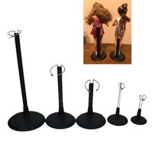 Регулируемый металлический черный кукольный манекен, подставка для запястья, держатель, кронштейн для поддержки маленьких девочек, аксессуары для кукольного домика