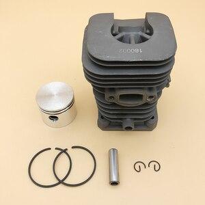 Image 3 - HUNDURE Juego de pistón y cilindro de motosierra de 41,1mm para Partner 350 Partner 351, piezas de repuesto de motosierra de gasolina