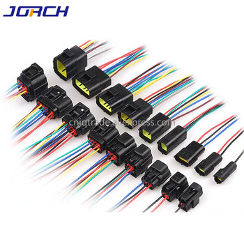 1 Sets 1/2/3/4/6/8/10/12/16 Pin Denso 1.8mm Waterproof Wire Connector Electrical Plug Car Auto Sealed Truck Harness Socket image