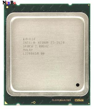 AAA+ appearance quality Intel Xeon E5-2620 2.0GHz SR0KW Processor Hexadecimal core 2.0 GHz CPU SR0KW 95W 12 threads Free repair original processor intel xeon x3360 quad core 2 83ghz lga 775 95w 12m cache server cpu scrattered piece free shipping
