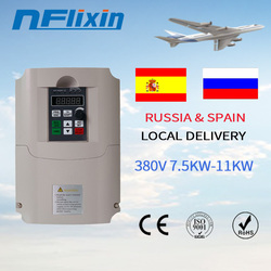 QD350 380v 7.5kw VFD Variable Frequency Drive Inverter ac Motor Speed Control 0-1000Hz Frequency Converter