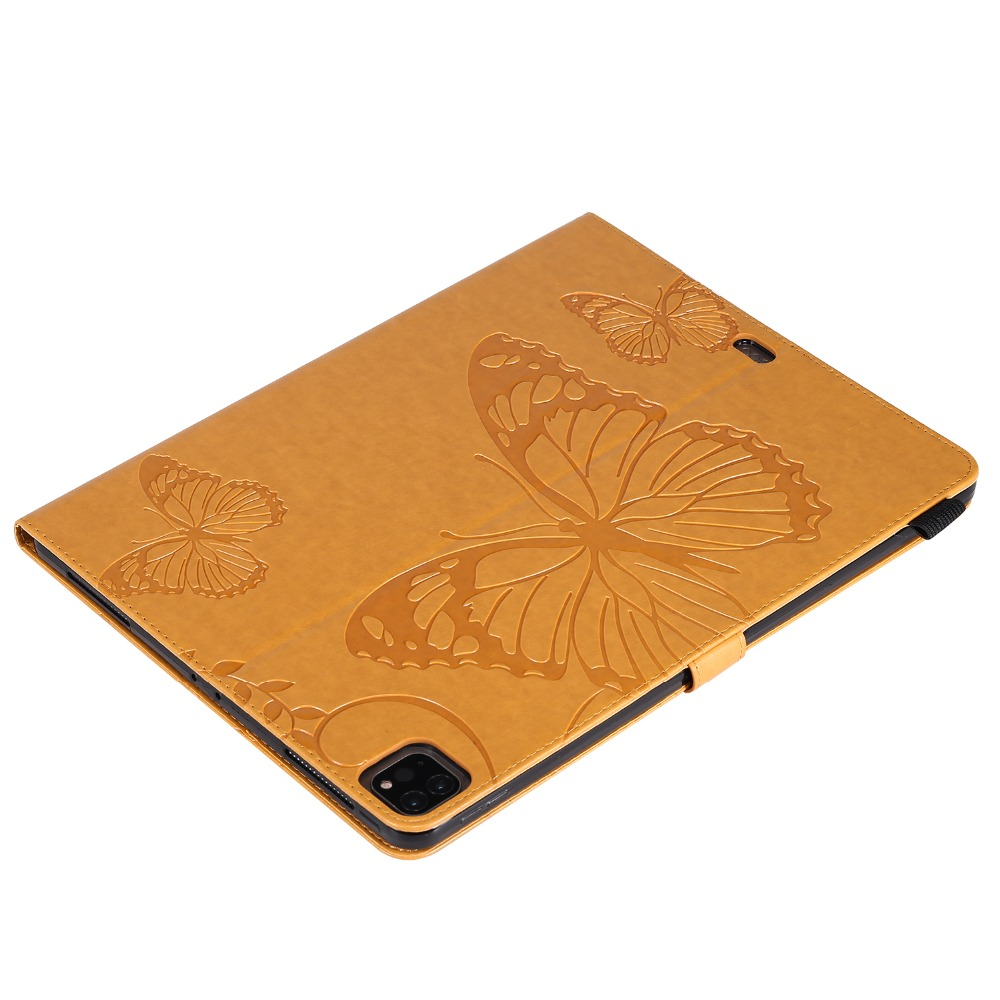 Folio Fundas 2018 Case Folding For Pro Tablet 12.9 Embossed iPad Butterfly Cover 2020