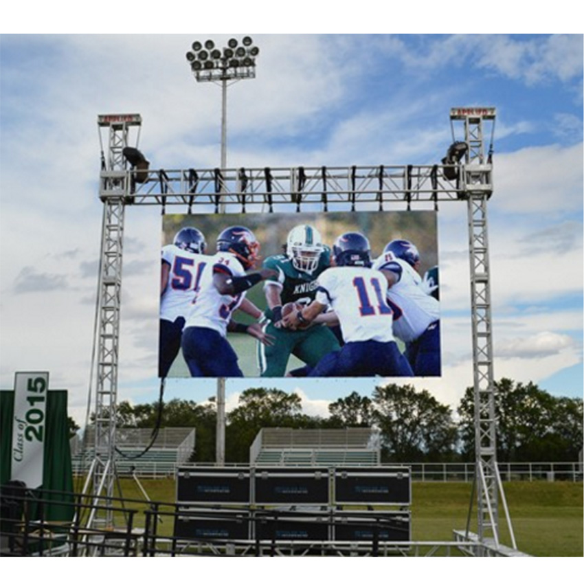 Outdoor Led Display 128*128dots P3.91 SMD1921 1/16scan, 500x500mm Die Cast Aluminum Cabinet, Full Color LED Big Billboard Screen